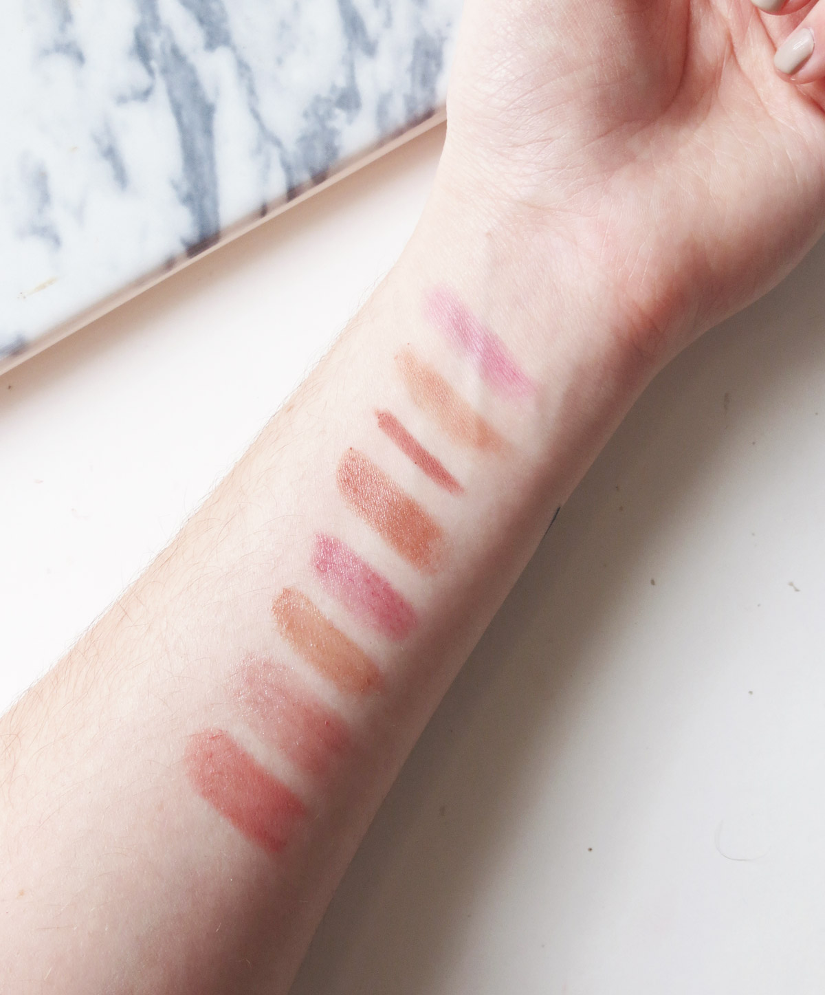 Like, Cake, Pillow Talk, Strip, Honey, Nu de Soleil, Boy, Twisted Beige