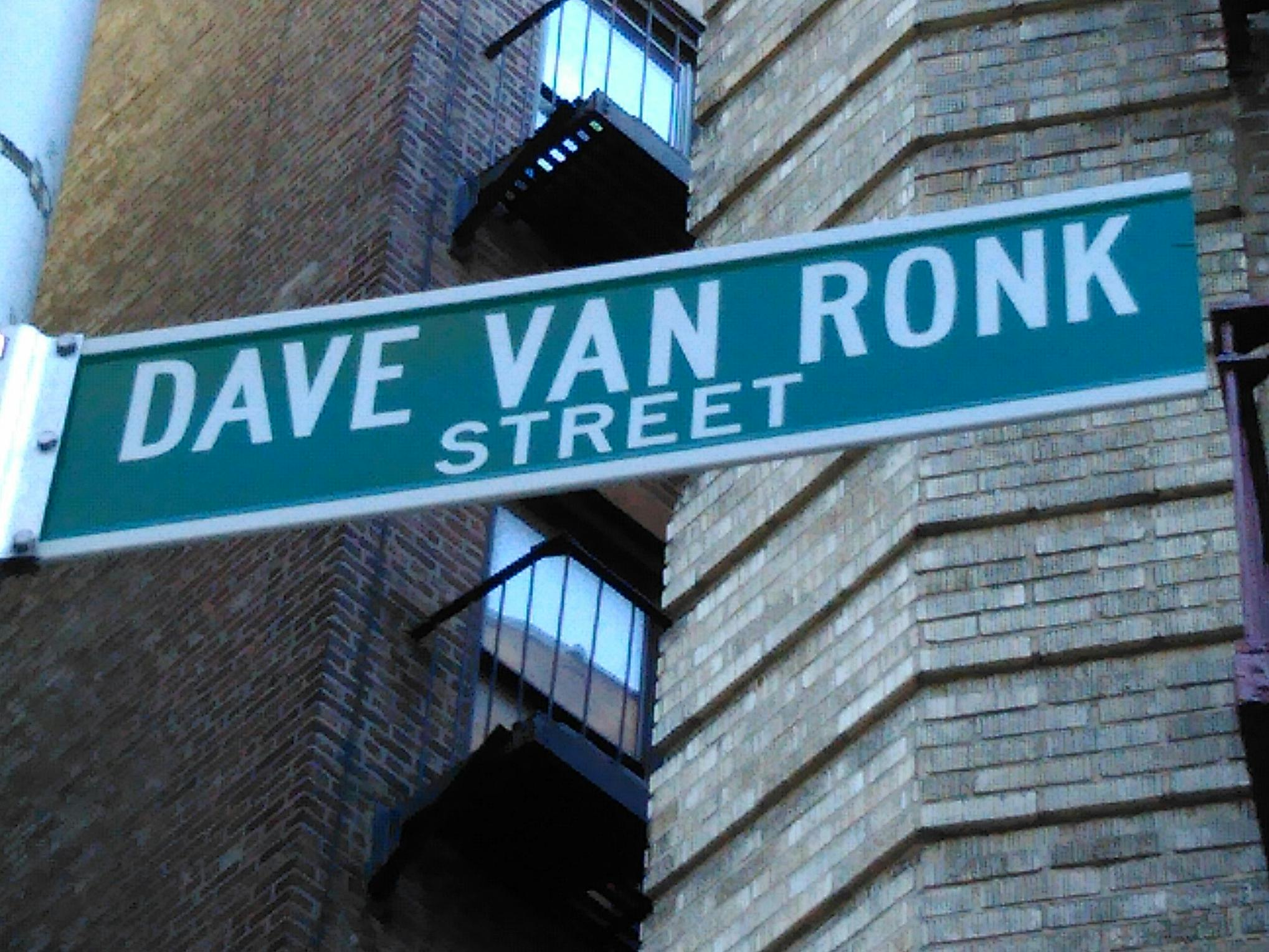 A section of Washington Place was renamed for the Village folk legend in 2004. Van Ronk died in 2002.