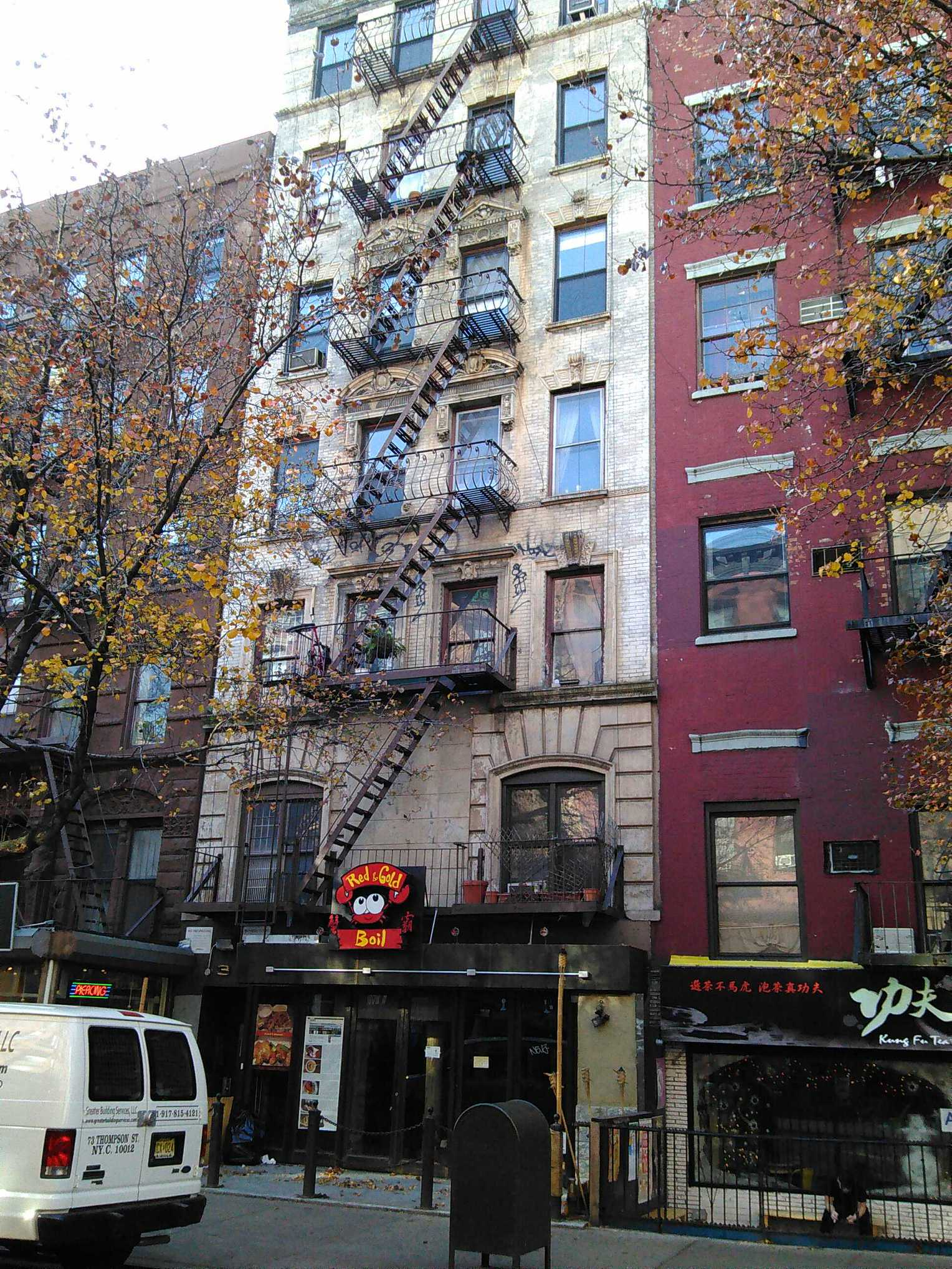 The '60s figure lived at 30 St. Mark's Place from 1967 to 1974. First in the basement, then apartment 4D.