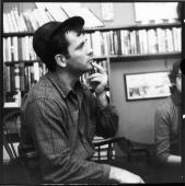 What Would Jack Do? Kerouac at Fred W. McDarrah's apartment, 304 W. 14th St., December 10, 1959.