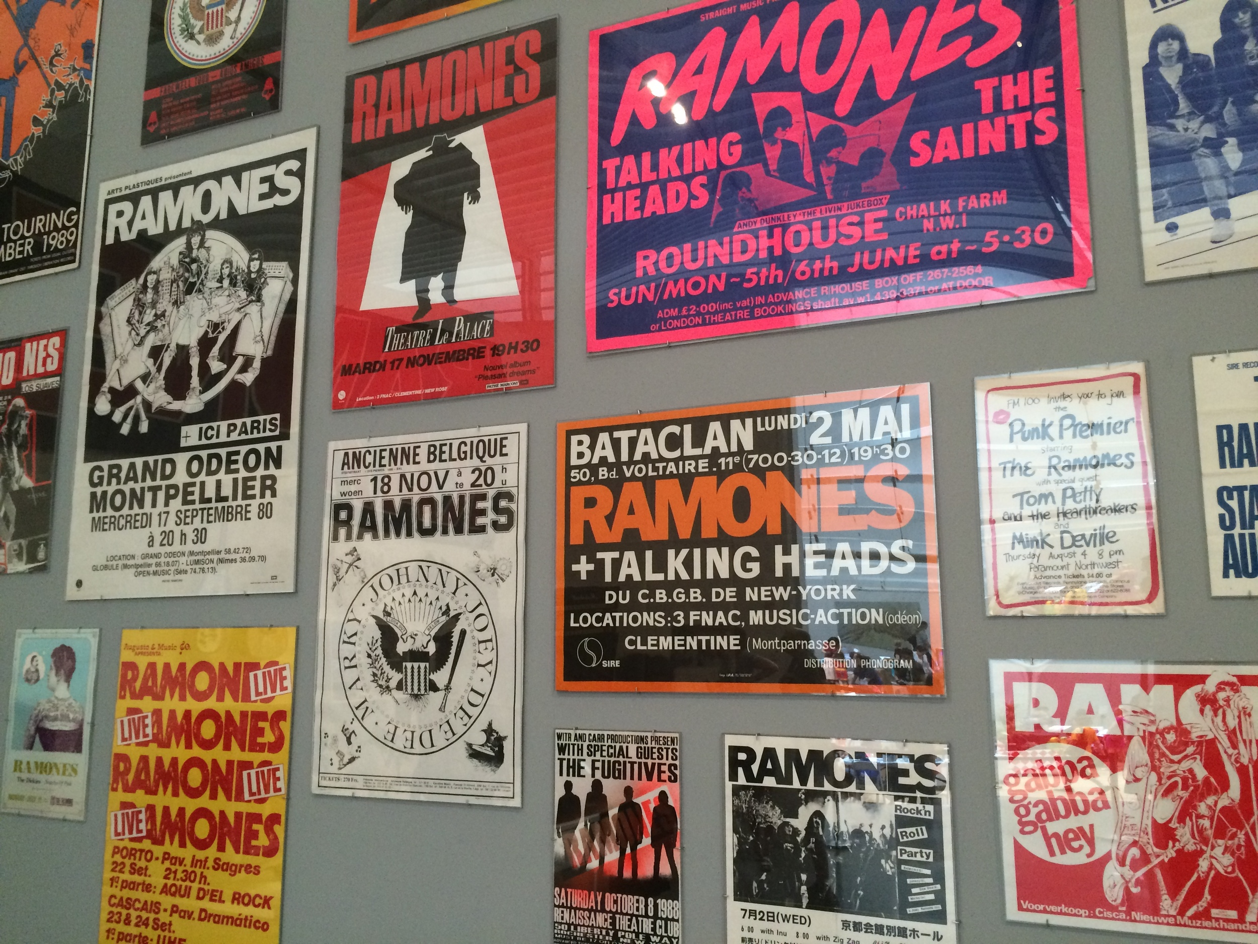 The Talking Heads opened for the Ramones when they played Bataclan, the Paris club that was attacked by terrorists last year.