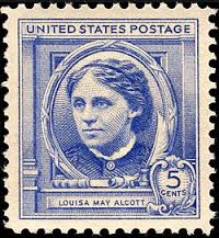 A 1940 postage stamp from a Famous Americans series.