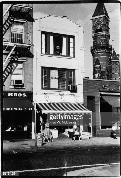22 Greenwich Ave., August 10, 1960. (Photo by Fred W. McDarrah/Getty Images).