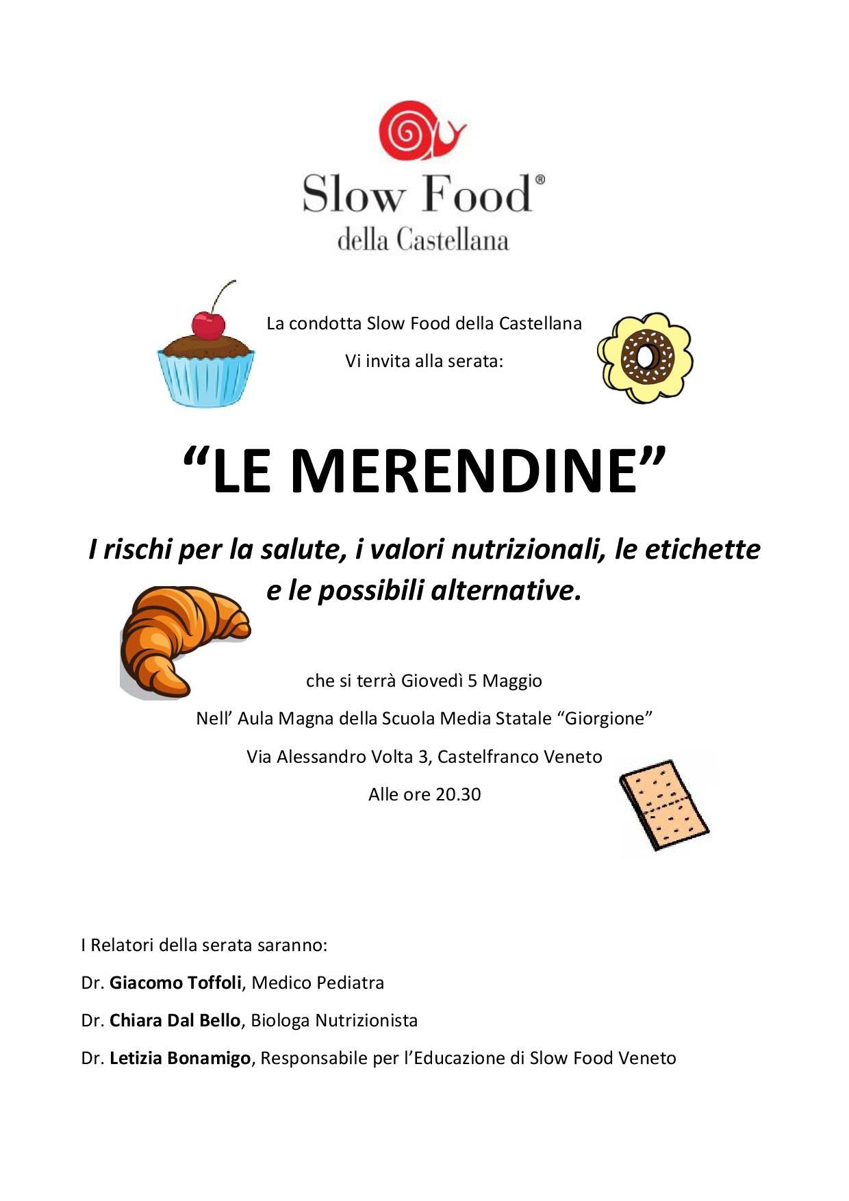 locandina merendine