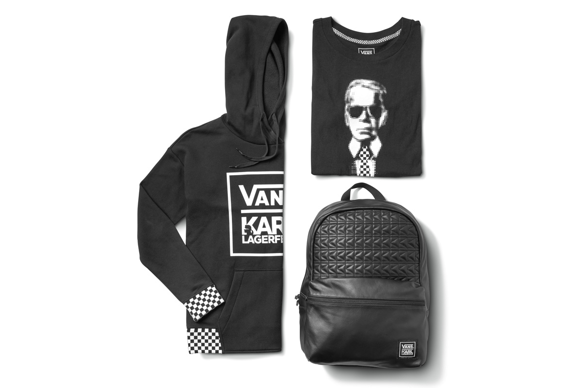 Vans x KARL LAGERFELD Collection — strictly waffles.