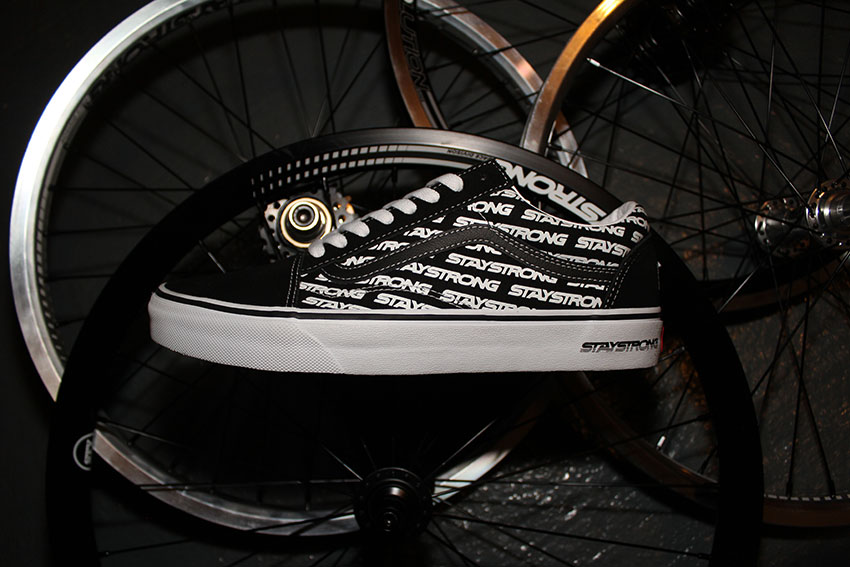 """VANS x Stay strong """"for life"""" old skool1"""