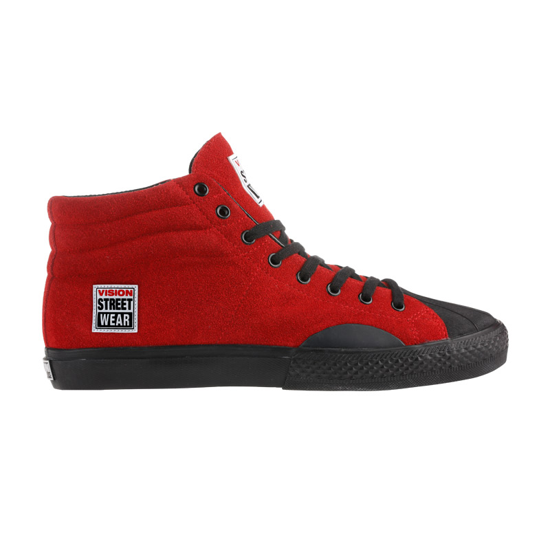 Suede High // Red