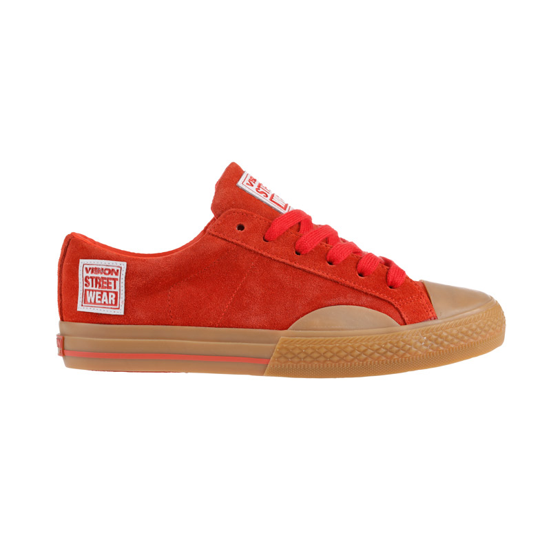 Suede Low // Red Gum