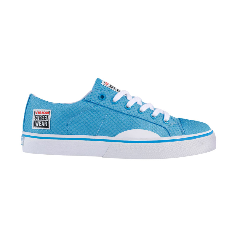 Canvas Low // Blue with White
