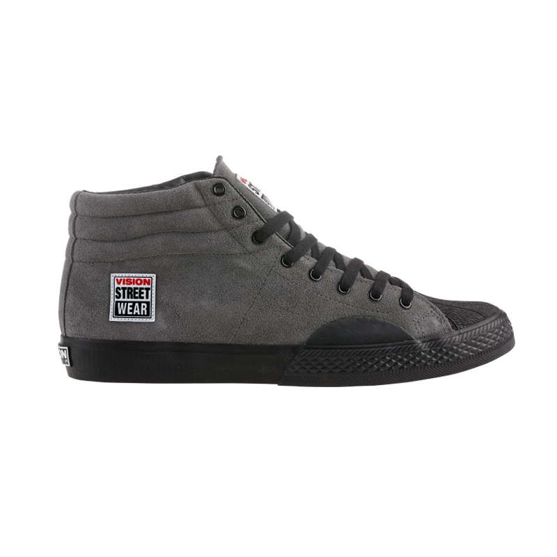 Suede High // Charcoal