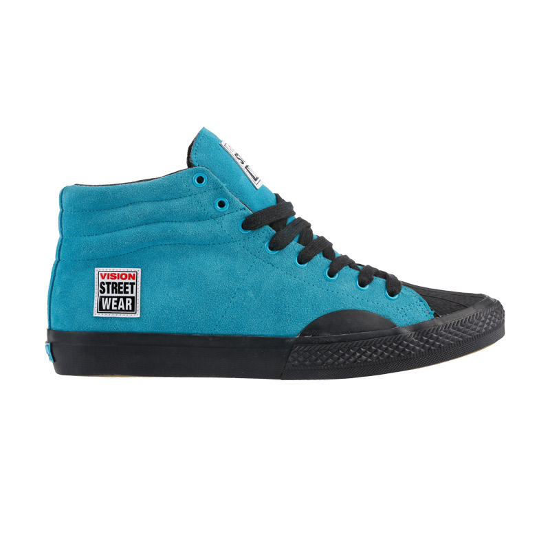 Suede High // Turquoise