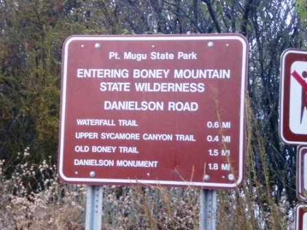 """They call it Danielson Road but it sure don't look like a """"road"""" to me!"""