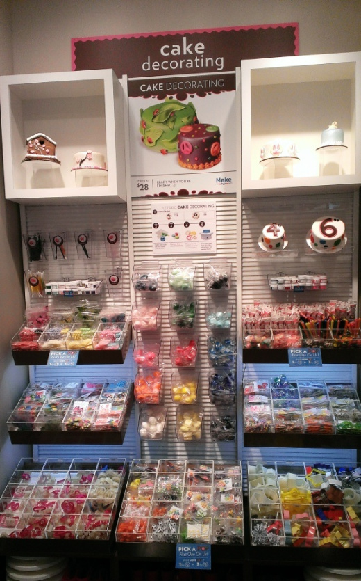 Selection of supplies to individualize your cake!