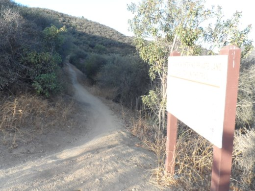 Single track with awesome, continuous views as you continue west into Newbury Park.