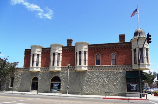 Left side of California Oil Museum on 10th Street