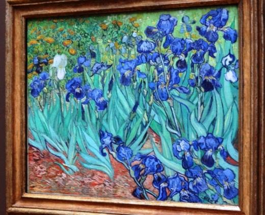 Irises by Dutch artist Vincent Van Gogh