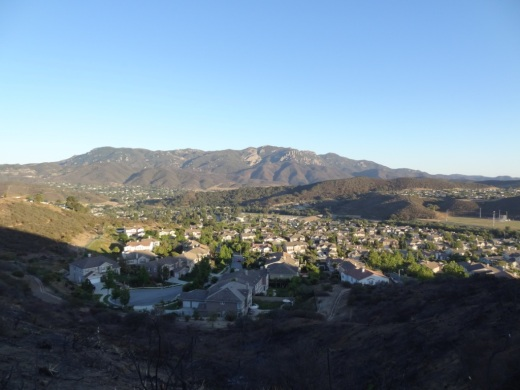 The views are really nice up here, looking toward Boney Mountain on the south.