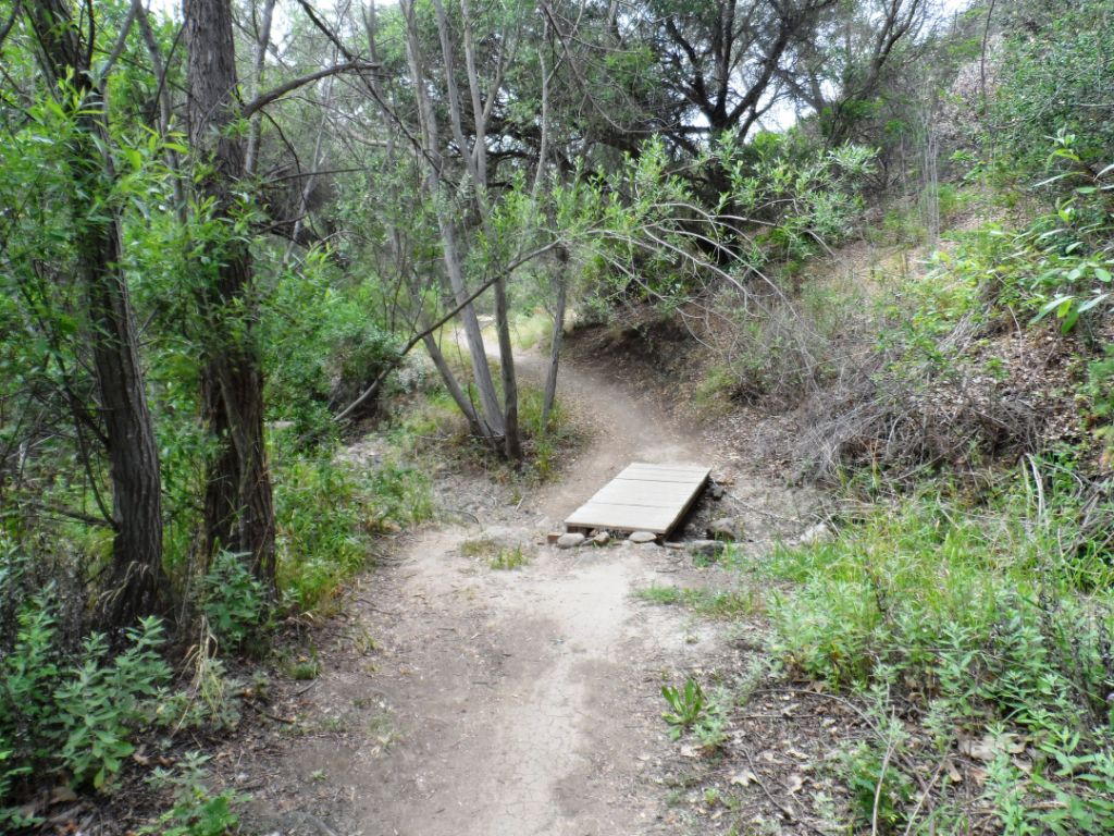 Hawk Canyon Trail is a fairly narrow, mostly single-track trail.
