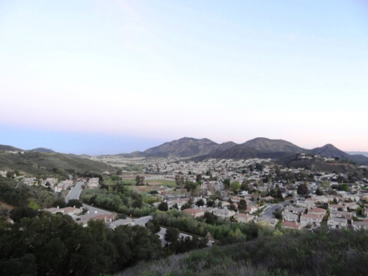 Views into the Dos Vientos section of Newbury Park