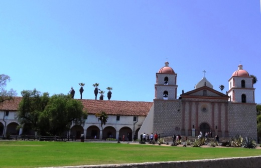 The Santa Barbara Mission in July 2013