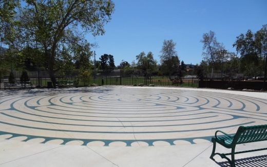 Borchard Park Labyrinth in Newbury Park