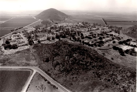 Aerial of the former Camarillo State Hospital (Photo Courtesy Pleasant Valley Historical Society)