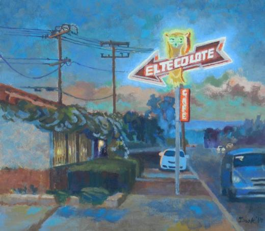 El Tecolote by Linda Dark of Camarillo.