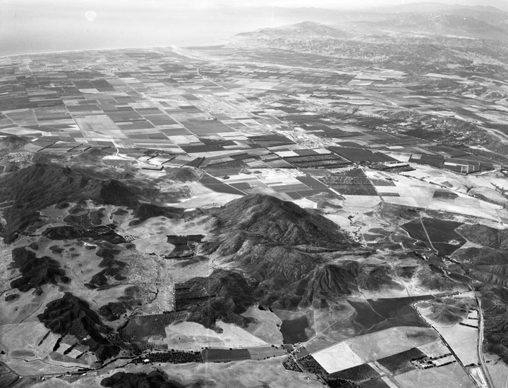 Another Aerial View of Dos Vientos Ranch in 1956 (Photo Credit: Howard D. Kelly, Kelly-Holiday Collection of Negatives and Photographs/Los Angeles Public Library)