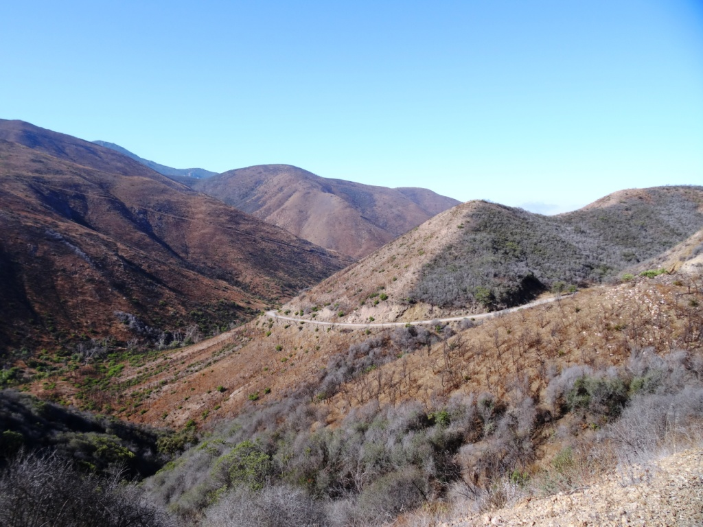 Another view of where you'll be going...down, down, down into Sycamore Canyon