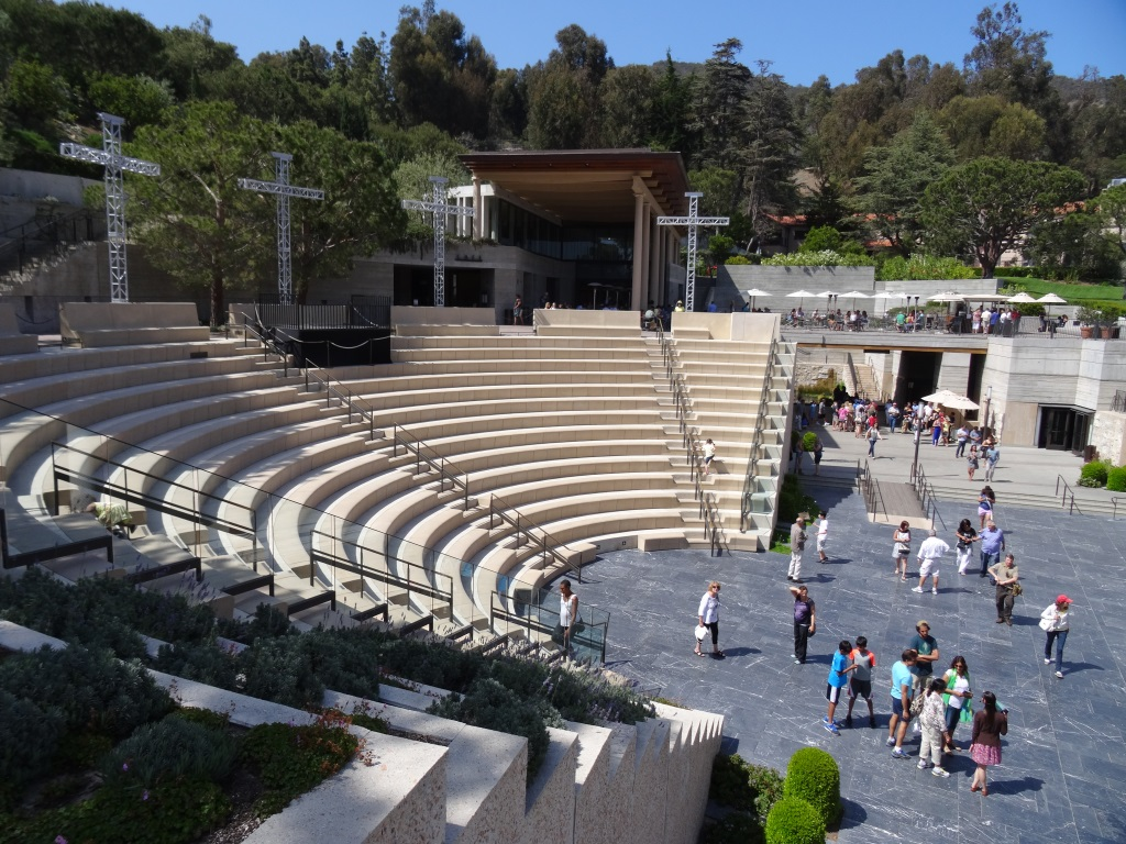 Outdoor amphitheater has an authentic feel to it