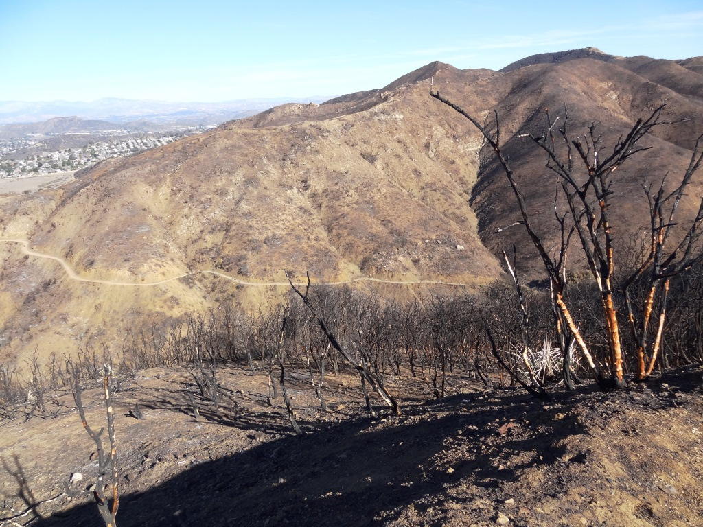 This is a bit of a dried out view from Upper Danielson Road looking down from where we came from in 2015.