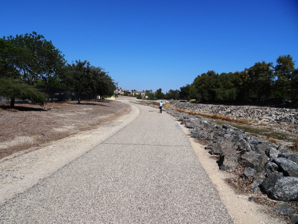 Arroyo Simi Bike Path/Trail in Simi Valley.