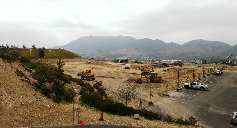 Westlake Village Community Park construction well underway