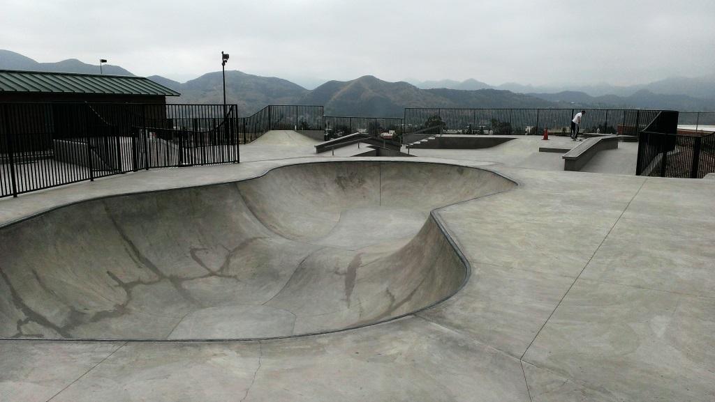 Skate park at Westlake Village Community Park is open to the public