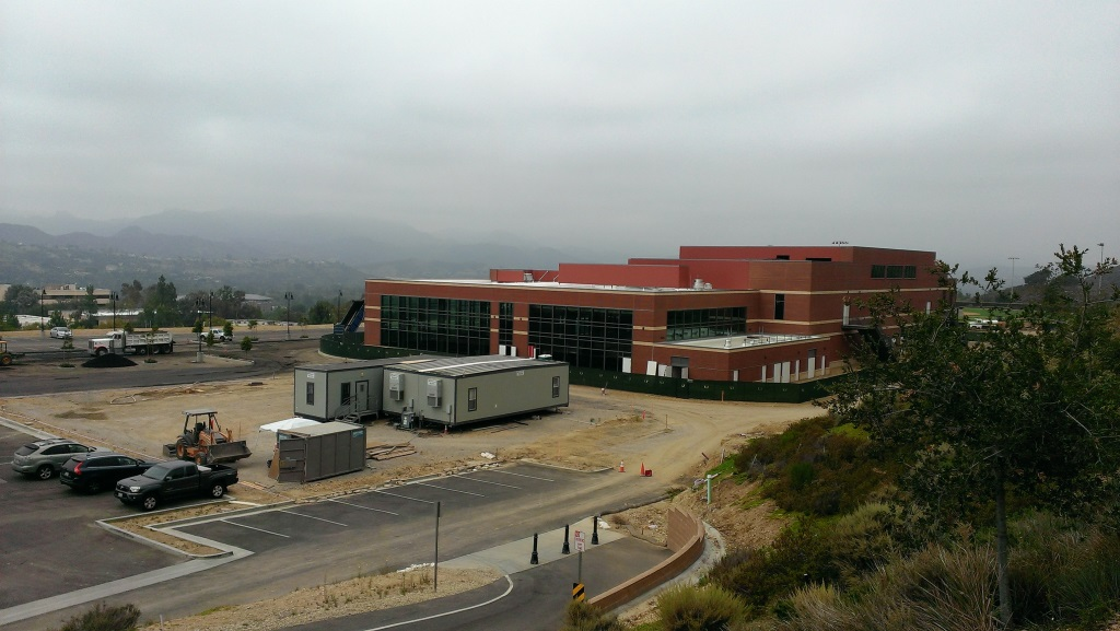 View of the Triunfo Y facility under construction