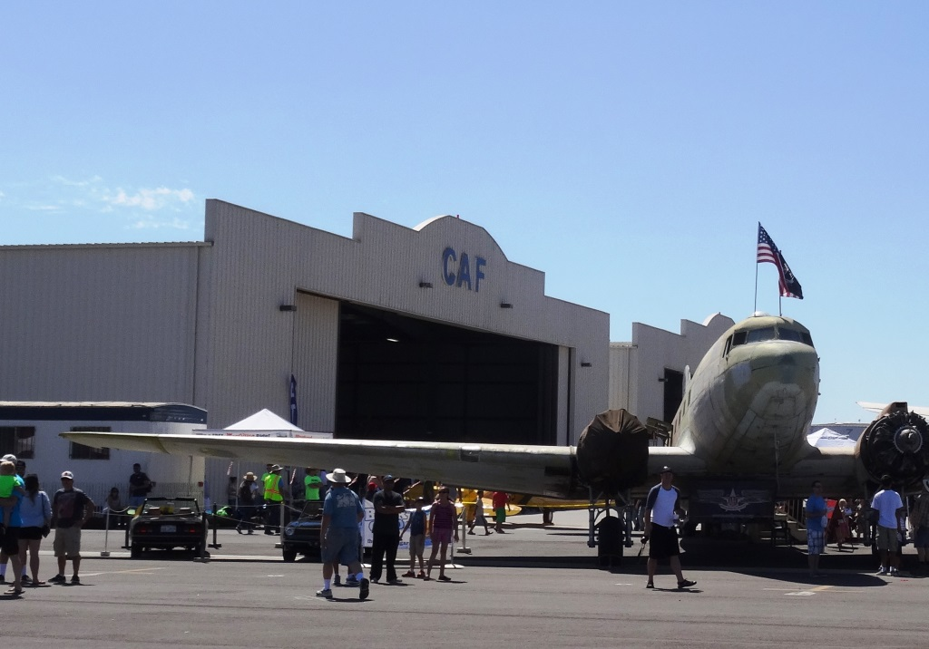 Existing CAF Hangar at Camarillo Airport