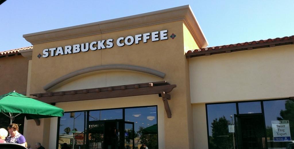 Camarillo Drive Thru Starbucks