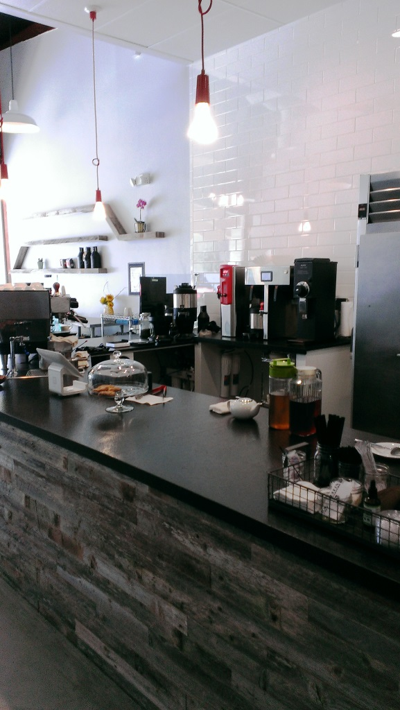 Evidence that indeed, Ragamuffin Coffee Roasters is now open in Newbury Park
