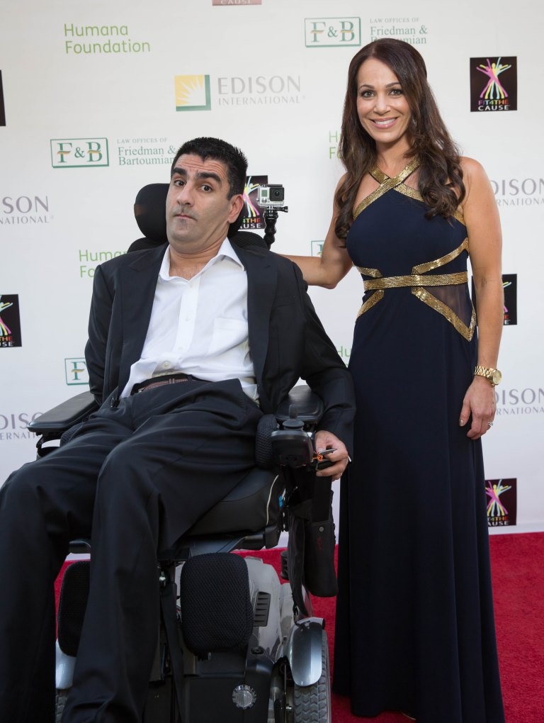 Miracle of Movement Gala Honorees, Sourena Vasseghi and Lisa Roub