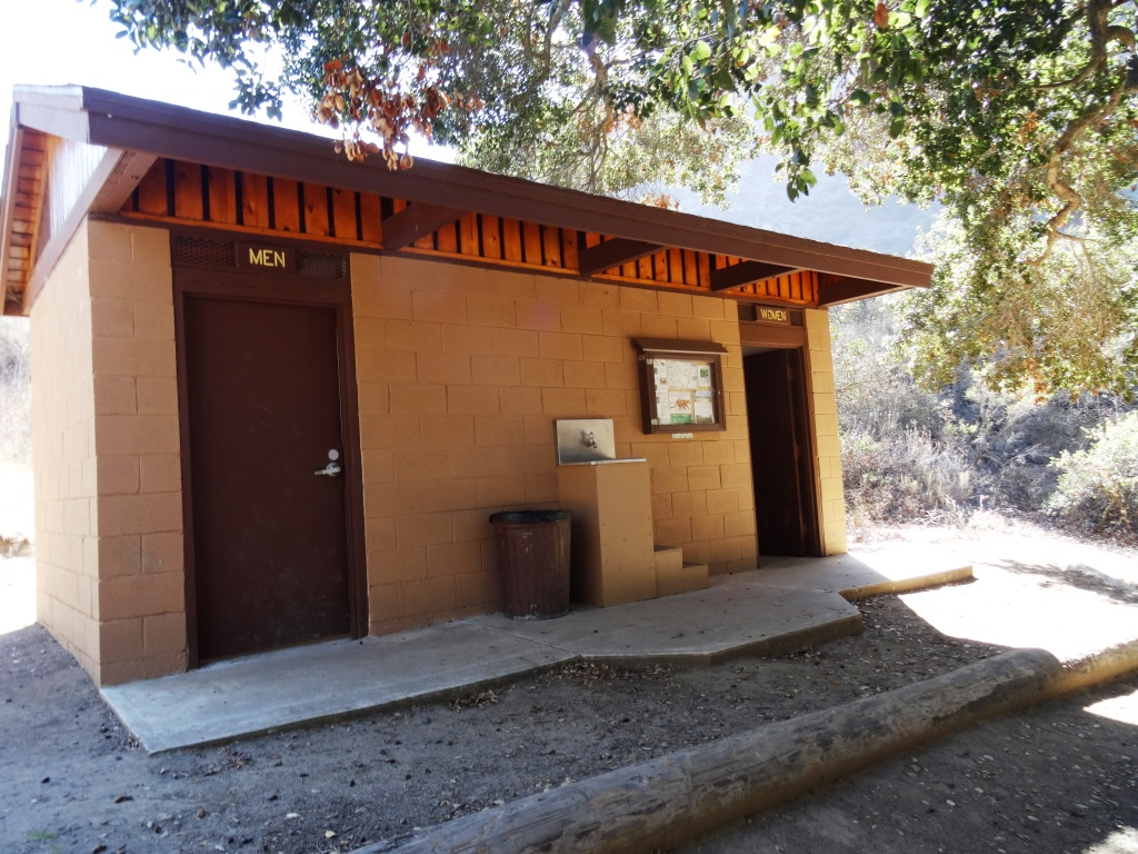 Additional restrooms at the bottom of Wildwood Canyon.