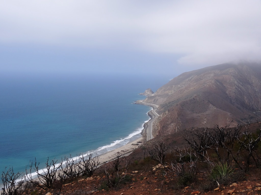 Views from the Ray Miller Trail in Malibu.