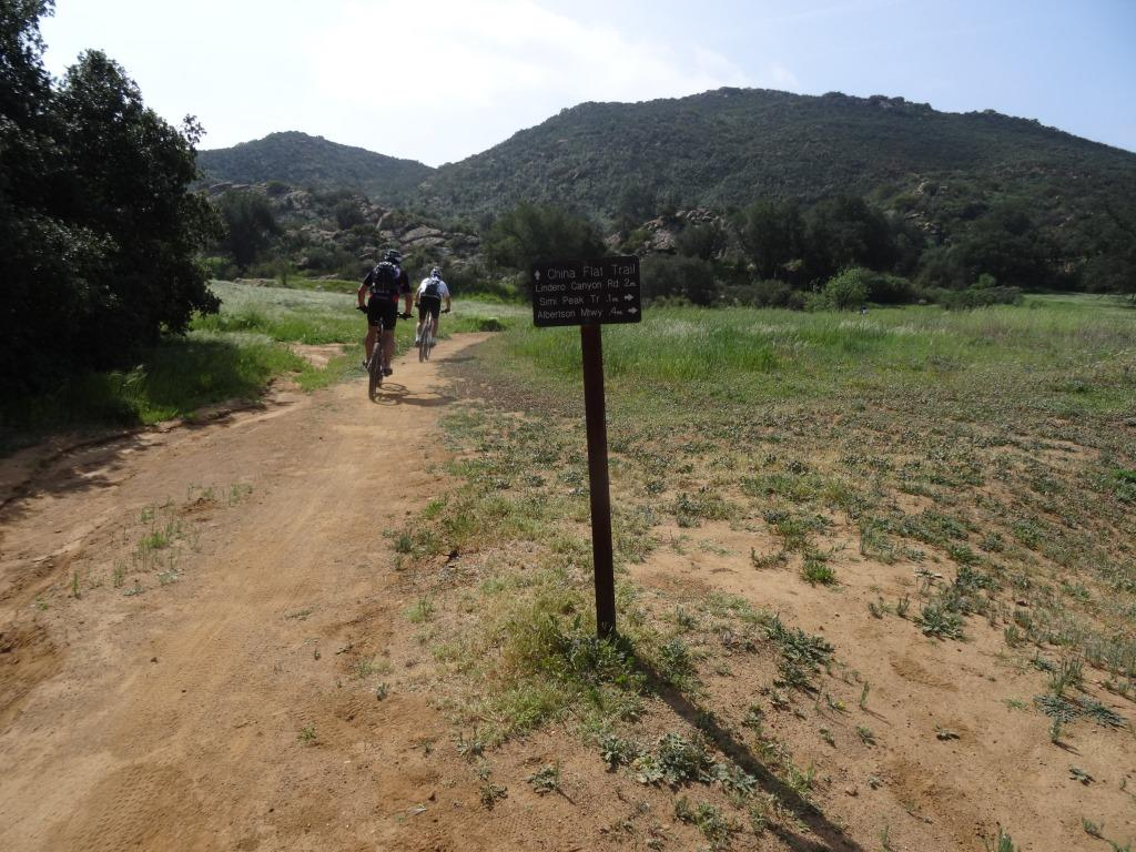 You can also get to China Flat from the   Palo Comado Trail   .