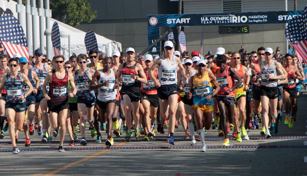 Start of men's race (Photo Credit: Carl Pytlinski)