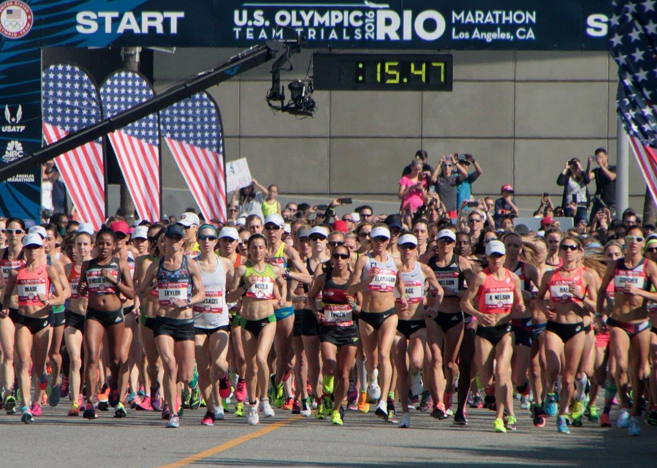Start of women's race (Photo Credit: Carl Pytlinski)