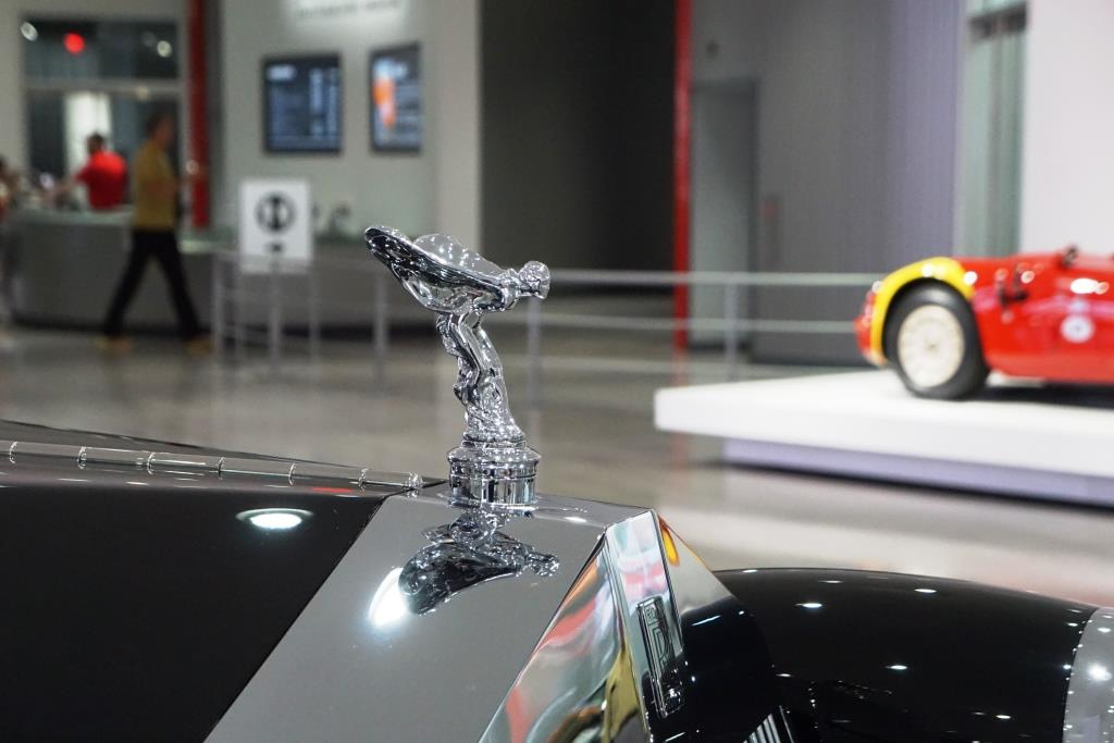 This Rolls Royce hood ornament caught my attention.