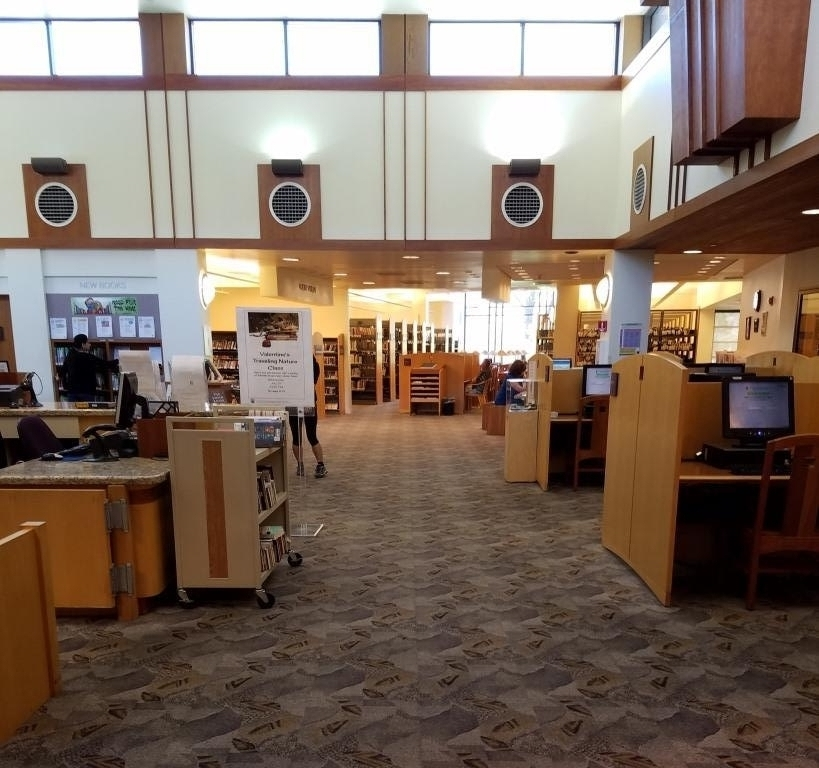 Sshhh...don't tell anyone what a nice library this is!