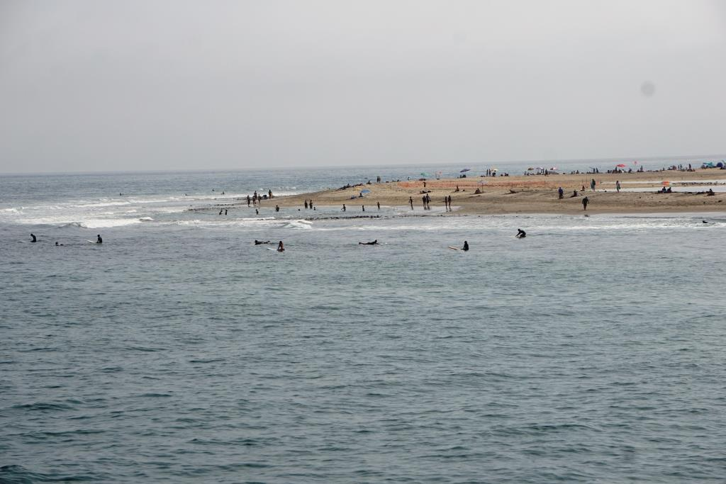 Surfrider Beach from the Malibu Pier