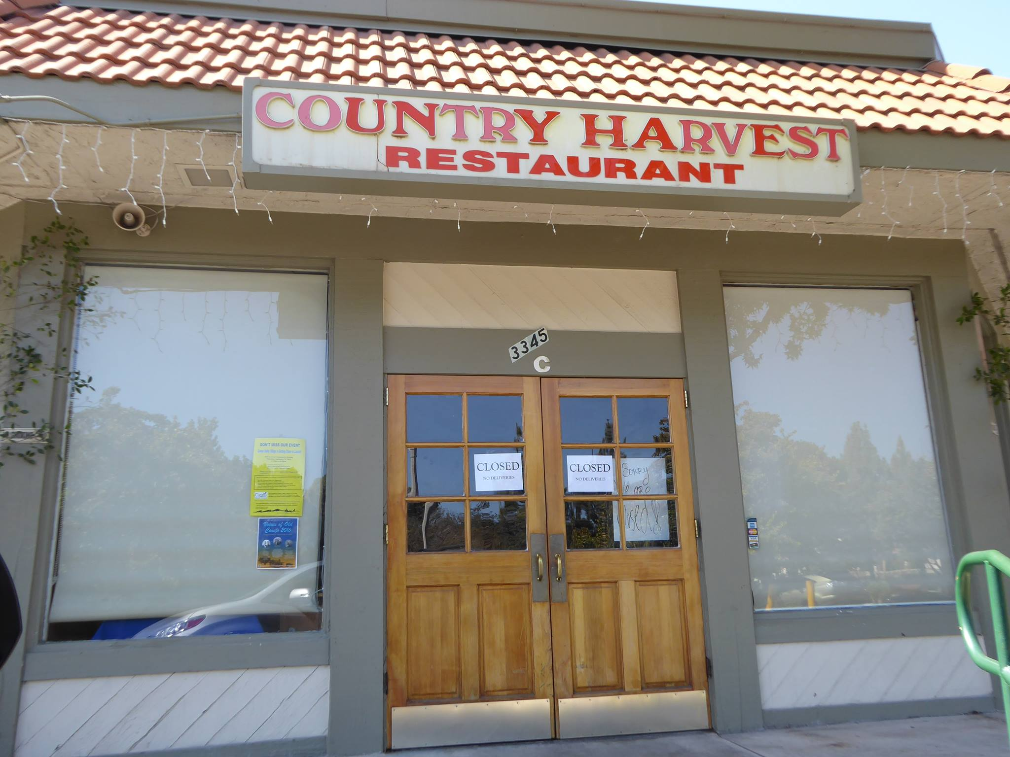 Country Harvest after the 2nd closing.