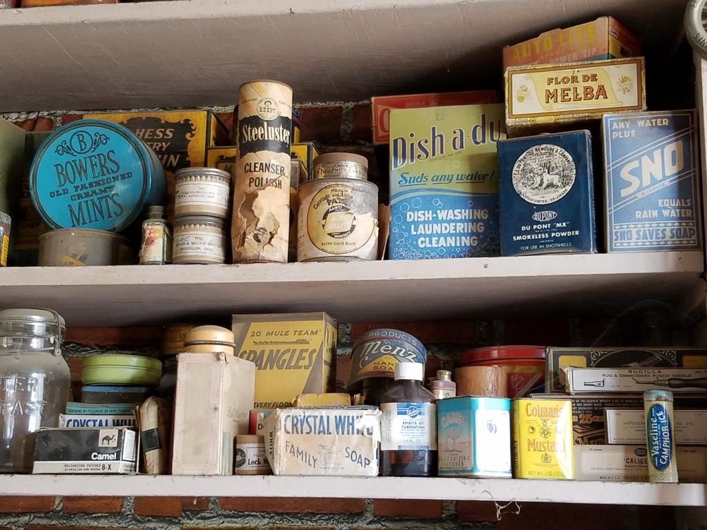"""History on display in """"Jack's Museum"""" at Fulkerson Hardware"""