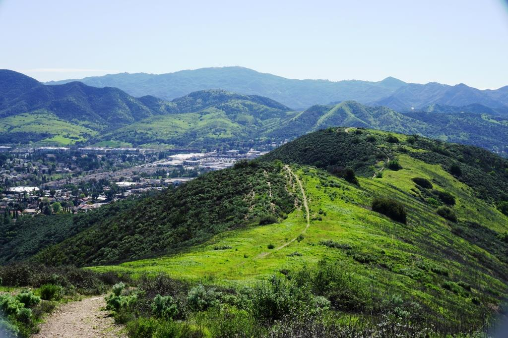 Trail off of Lindero Road in Westlake Village